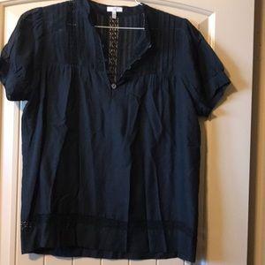 Joie Black shirt sleeve shirt size M